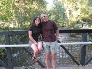 A nice guy took this picture of us by Boulder Creek.