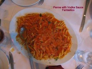 Pasta course.